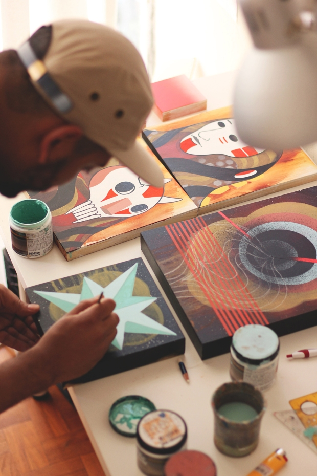 FINISHING SCHOOL #7 | ARTIST TALK WITH SANTOS SHELTON |SAT| NOV 23RD | 3-5PM
