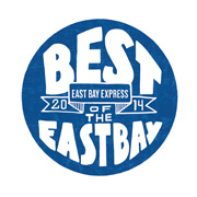 PROUD WINNERS OF BEST OF THE EAST BAY 2014